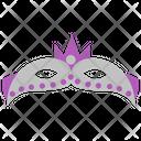 Eye Mask Carnival Mask Venetian Mask Icon