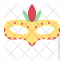 Mask Birthday Party Icon