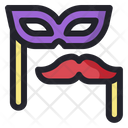 Custom Mask New Year Celebration Icon
