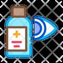 Glaucoma Medicine Vial Icon