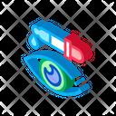 Eye Medicine Dropper Icon