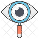 Eye Monitoring Cyber Monitoring Cyber Security Icon