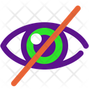 Eye No Icon
