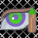 Eye Pencil Eye Liner Pencil Icon