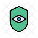 Protection Shield Eye Icon