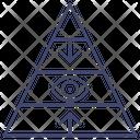 Eye Pyramid Icon