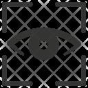 Scan Biometric Iris Icon