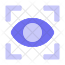 Eye Recognition Artificial Intelligence Technology Icon