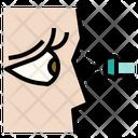 Eye Pupillary Light Icon
