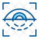 Eye Scan Security Icon