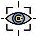 Eye Sensor Tracking Icon