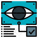 Eye Scan Artificial Intelligence Ai Icon