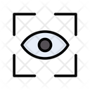 Scan Eye Security Icon