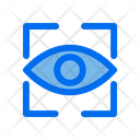 Scan Lock Screen Eye Icon