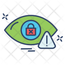 Eye Scanner Safety Icon