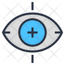 Eye Scanner Vision Icon