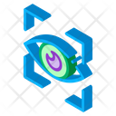 Scan Brain Machine Icon