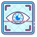 Eye Scanning Icon