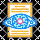 Eye Scanning Iris Scan Eye Icon