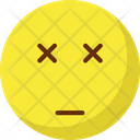 Eye Sealed Angry Emoticons Icon