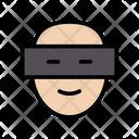 Eye Scanner Biometric Icon