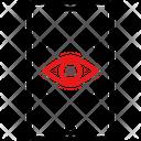 Retinal Security Passcode Password Icon