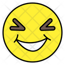 Eye Squint Face Emoticon Smiley Icon