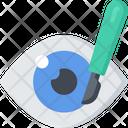 Eye Surgery Eyes Health Care Icon