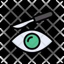 Eye Lens Blade Icon