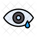 Tear Eye Allergy Icon