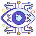 Eye Technology Eye Monitoring Network Monitoring Icon