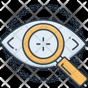 Eye Test Optometrist Eyesight Icon