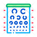 Eyes Ophthalmic Test Icon