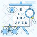 Ophthalmology Eye Care Clinic Eye Center Icon
