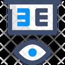 A Eye Test Icon