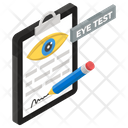 Eyesight Checkup Ophthalmologist Vision Test Icon