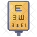Eye Test Eye Chart Eye Check Icon