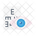 Eye Test Chart Icon