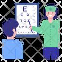Eye Test Eye Checkup Optometrist Icon