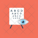 Eye Test Vision Icon