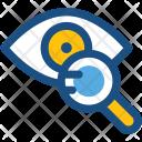 Eye Magnifier Test Icon
