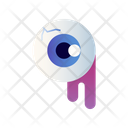 Eyeball Scary Spooky Icon