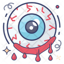 Spooky Eyeball Evil Eye Witch Eyeball Icon