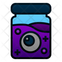 Eyeball Eye Bottle Icon