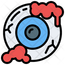 Eyeball Terror Spooky Icon