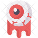 Eyeball Spooky Blood Icon