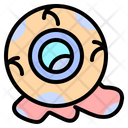 Eyeball Spooky Terror Icon