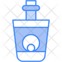 Eyeball Scary Bottle Icon