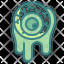 Eyeball Fright Spooky Icon