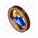 Eyeball Damage Glaucoma Icon
